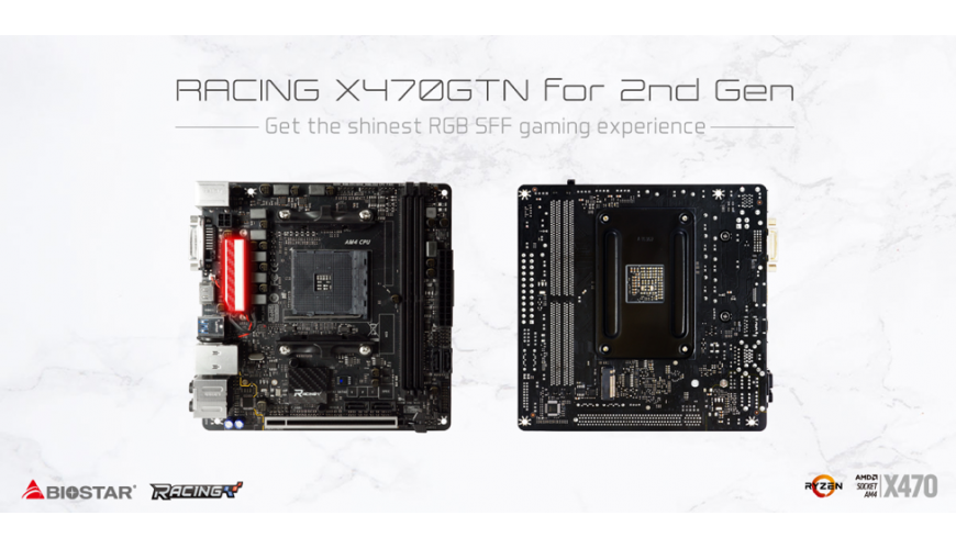 RACING X470GTN – a Mini-ITX Gaming Motherboard